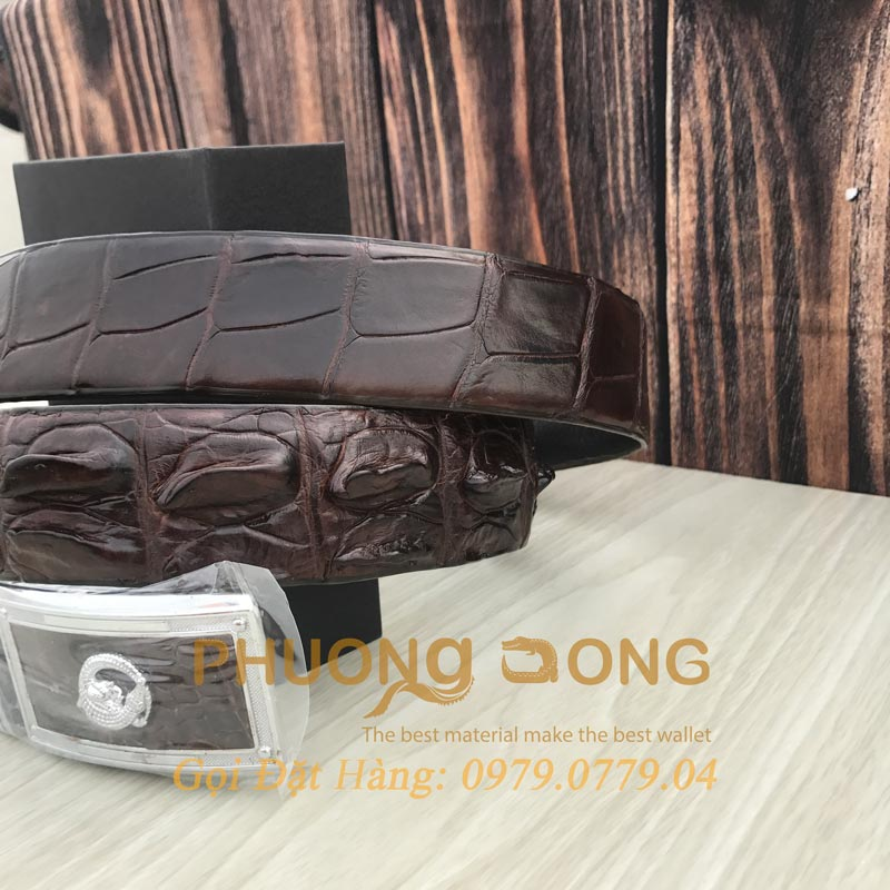 Thắt Lưng Cá Sấu Liền 4cm (Mã: 905)
