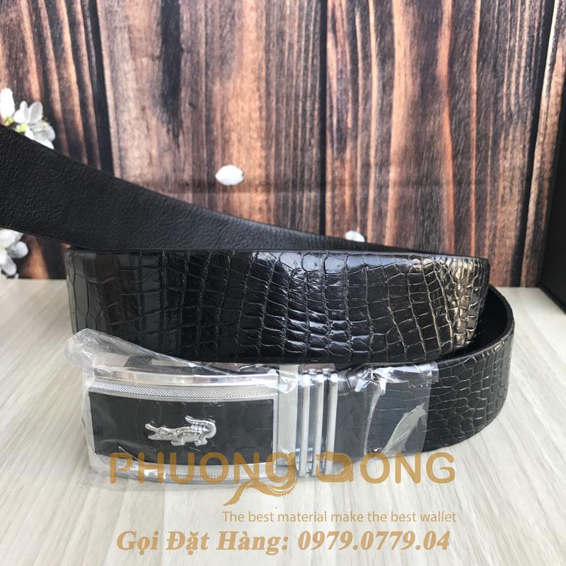 Thắt Lưng Cá Sấu Liền 4cm (Mã: 921)