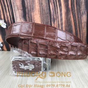 Thắt Lưng Cá Sấu Liền 4cm (Mã: 931)