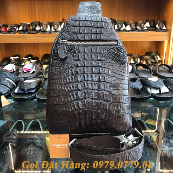 Túi Đeo Chéo Da Cá Sấu (Mã: C17)