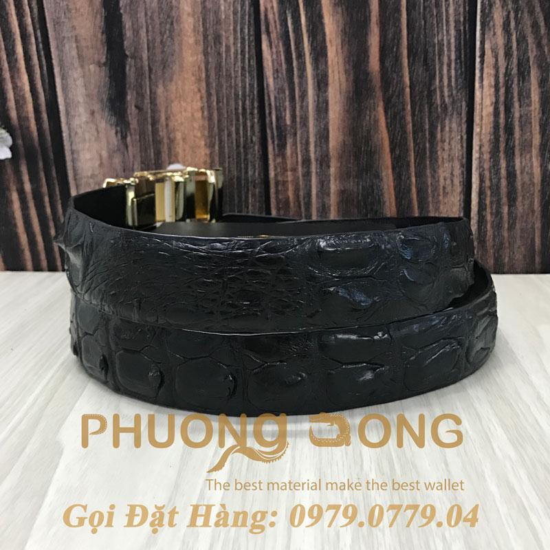Thắt Lưng Cá Sấu Nối 3.5cm (Mã: 809)
