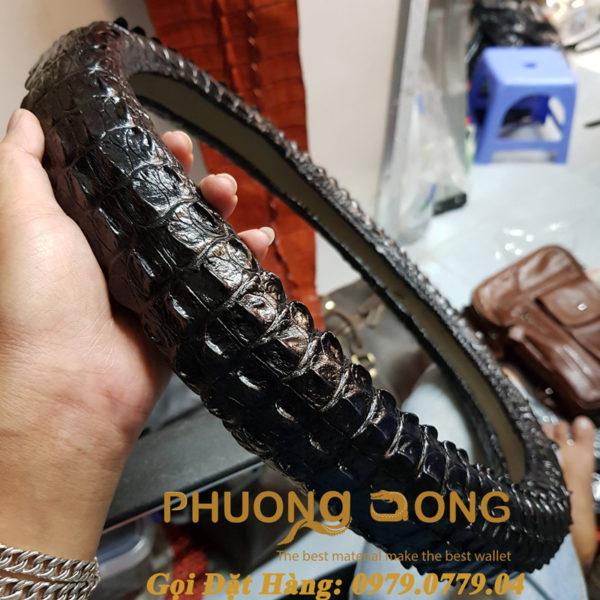 Bao Tay Lái Da Cá Sấu