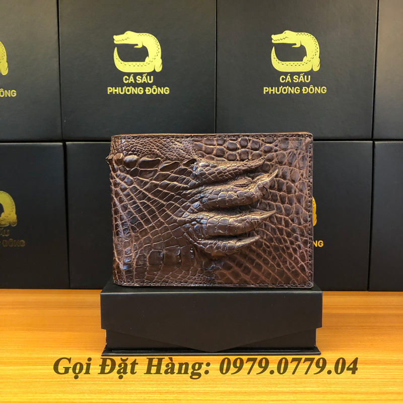 Ví Cá Sấu Tay (Mã: 764)