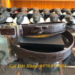 Thắt Lưng Cá Sấu Liền 4cm Đặc Biệt (Mã: 9035)