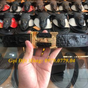 Thắt Lưng Cá Sấu Liền 4cm Đặc Biệt (Mã: 9045)