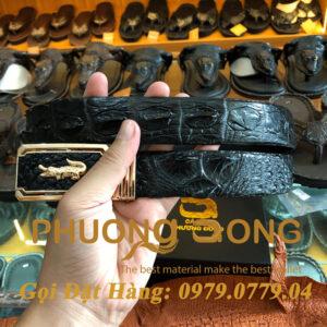 Thắt Lưng Cá Sấu Liền 3.5cm (Mã: L0016)
