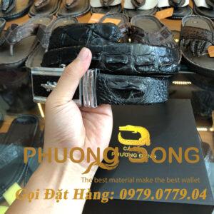 Thắt Lưng Cá Sấu Liền 3.5cm (Mã: L0026)