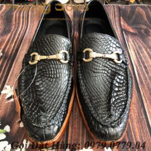 Giày Lười Cá Sấu Da Chân (I)