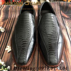 Giày Tây Đà Điểu (Size: 41)