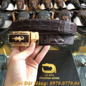 Thắt Lưng Cá Sấu Nối 3.5cm (Mã: 839)
