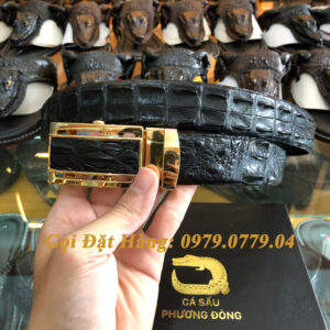 Thắt Lưng Cá Sấu Nối 3.5cm (Mã: 840)