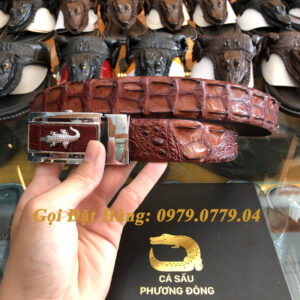 Thắt Lưng Cá Sấu Nối 3.5cm (Mã: 841)