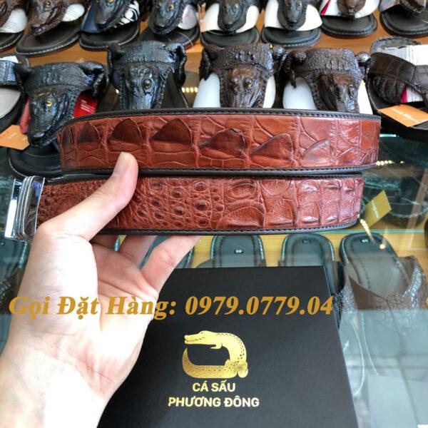 Thắt Lưng Cá Sấu Liền 4cm Đặc Biệt (Mã: 9064)
