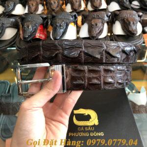 Thắt Lưng Cá Sấu Liền 4cm (Mã: 9074)