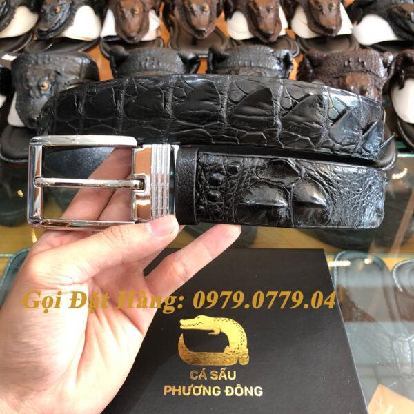 Thắt Lưng Cá Sấu Liền 4cm (Mã: 9079)