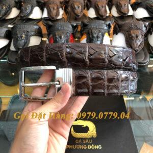 Thắt Lưng Cá Sấu Liền 4cm (Mã: 9081)