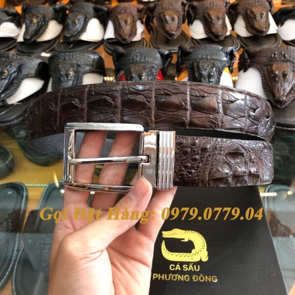 Thắt Lưng Cá Sấu Liền 4cm (Mã: 9082)