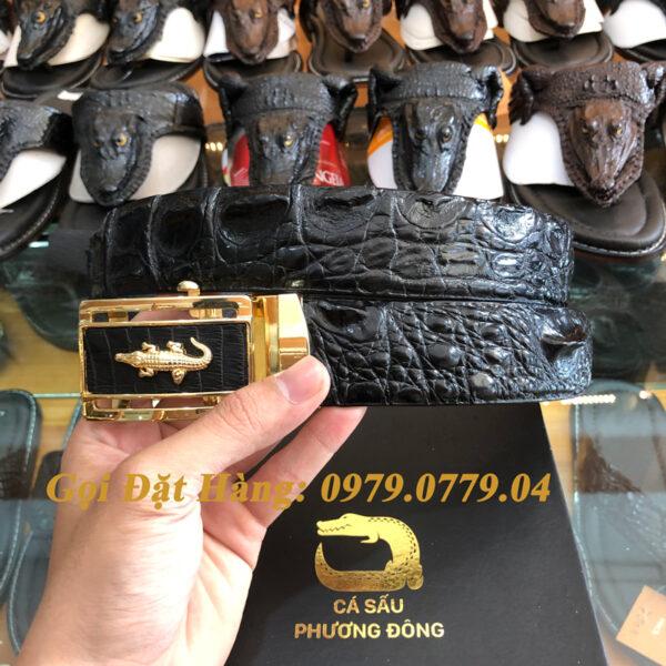Thắt Lưng Cá Sấu Liền 4cm (Mã: 9086)