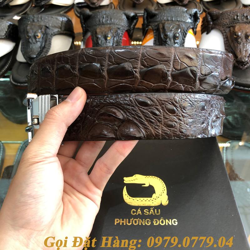 Thắt Lưng Cá Sấu Liền 4cm (Mã: 9087)