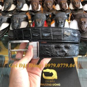 Thắt Lưng Cá Sấu Liền 4cm Đặc Biệt (Mã: 9091)