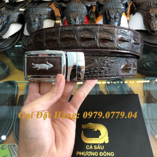 Thắt Lưng Cá Sấu Liền 4cm Đặc Biệt (Mã: 9092)