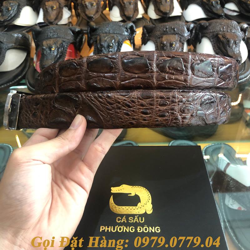 Thắt Lưng Cá Sấu Liền 3.5cm (Mã: L0033)