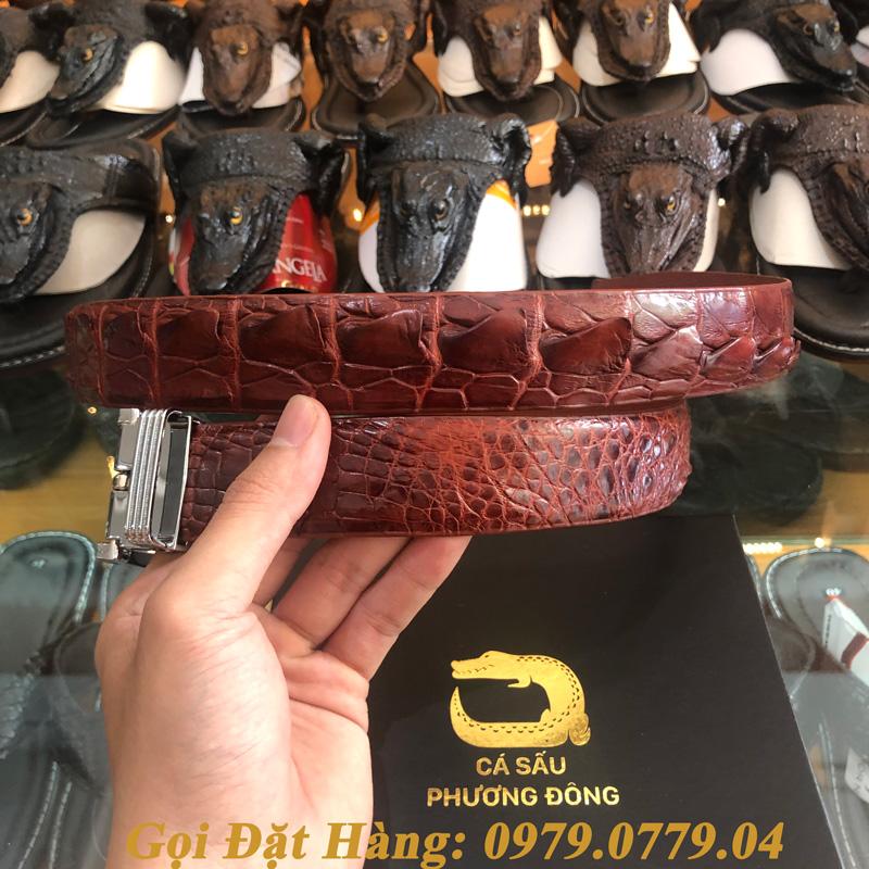 Thắt Lưng Cá Sấu Liền 3.5cm (Mã: L0035)
