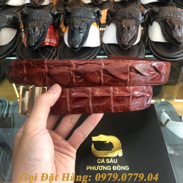 Thắt Lưng Cá Sấu Liền 3.5cm (Mã: L0036)