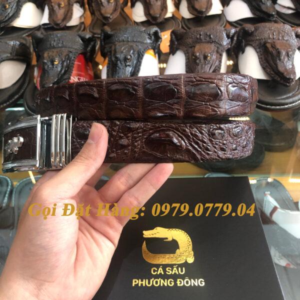 Thắt Lưng Cá Sấu Liền 3.5cm (Mã: L0037)