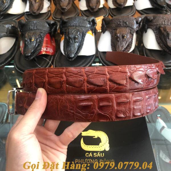 Thắt Lưng Cá Sấu Liền 3.5cm (Mã: L0038)