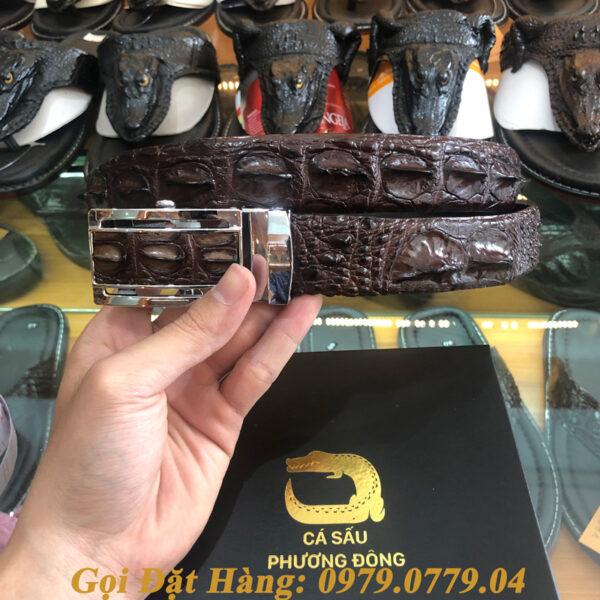 Thắt Lưng Cá Sấu Liền 3.5cm (Mã: L0050)
