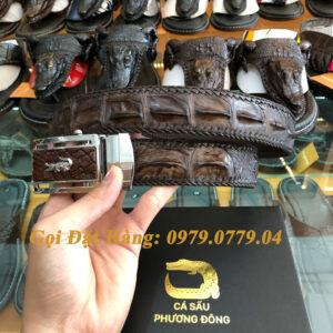 Thắt Lưng Cá Sấu Nối 4cm (Đan Viền - Mã: N739)