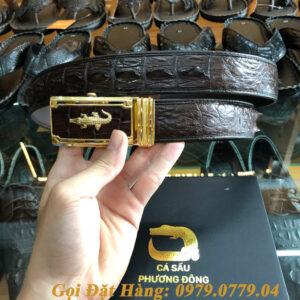 Thắt Lưng Cá Sấu Nối 3.5cm (Mã: 842)