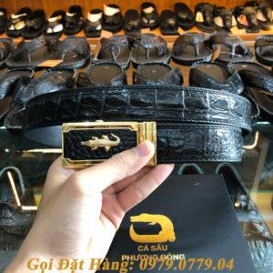 Thắt Lưng Cá Sấu Nối 3.5cm (Mã: 846)