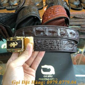 Thắt Lưng Cá Sấu Nối 3.5cm (Mã: 857)