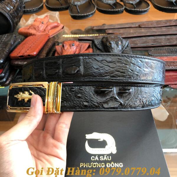 Thắt Lưng Cá Sấu Nối 3.5cm (Mã: 862)