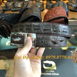 Thắt Lưng Cá Sấu Liền 4cm Đặc Biệt (Mã: 9096)