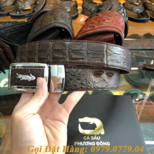Thắt Lưng Cá Sấu Liền 4cm Đặc Biệt (Mã: 9098)