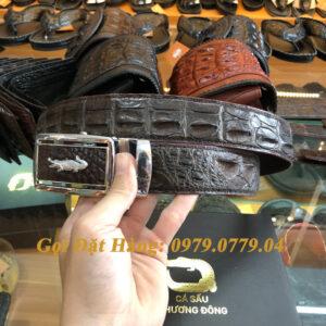 Thắt Lưng Cá Sấu Liền 4cm Đặc Biệt (Mã: 9100)