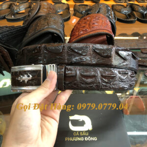Thắt Lưng Cá Sấu Liền 4cm (Mã: 9103)