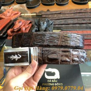 Thắt Lưng Cá Sấu Liền 4cm (Mã: 9108)