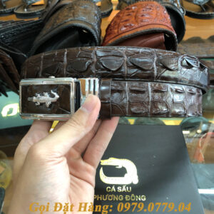 Thắt Lưng Cá Sấu Liền 3.5cm (Mã: L0053)