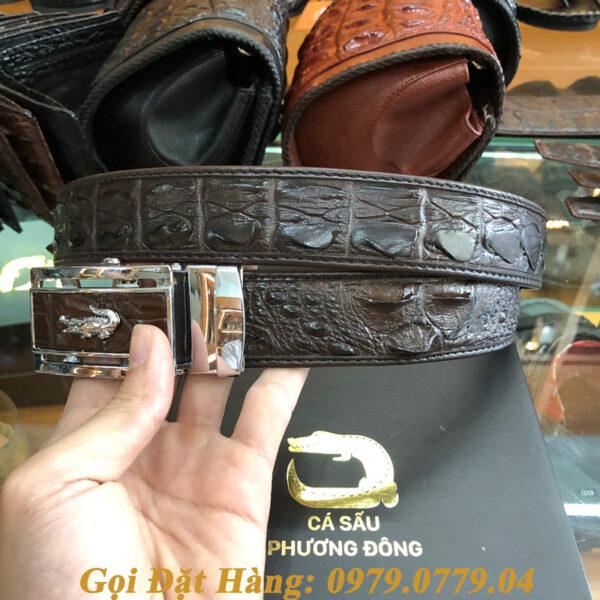 Thắt Lưng Cá Sấu Liền 3.5cm (Mã: L0062)