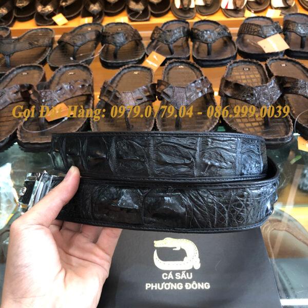 Thắt Lưng Cá Sấu Liền 4cm Đặc Biệt (Mã: 9116)