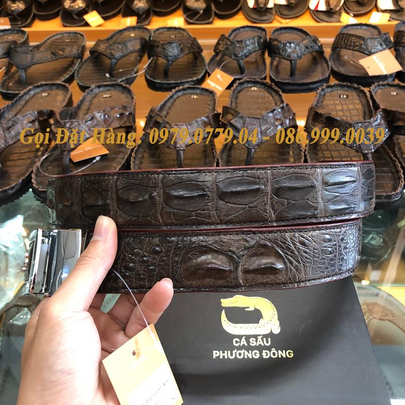 Thắt Lưng Cá Sấu Liền 4cm Đặc Biệt (Mã: 9120)