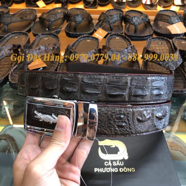Thắt Lưng Cá Sấu Liền 4cm Đặc Biệt (Mã: 9121)