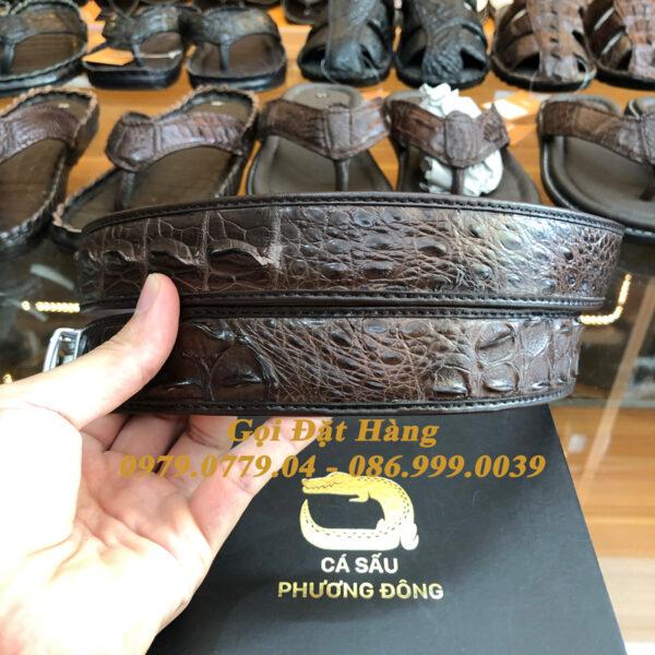 Thắt Lưng Cá Sấu Nối 3.5cm (Mã: 866)