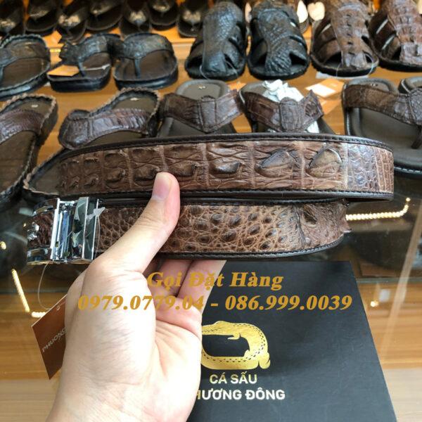 Thắt Lưng Cá Sấu Nối 3.5cm (Mã: 867)