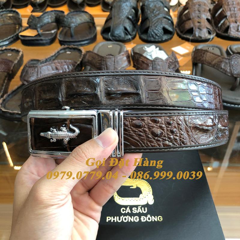 Thắt Lưng Cá Sấu Nối 3.5cm (Mã: 868)