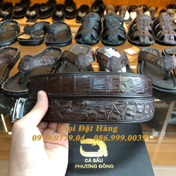 Thắt Lưng Cá Sấu Nối 3.5cm (Mã: 869)